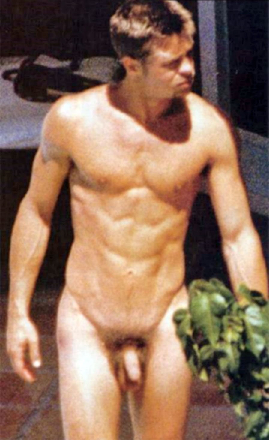 Brad pitt naked and fucked