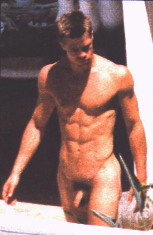 Brad pitt naked and fucked pity, that